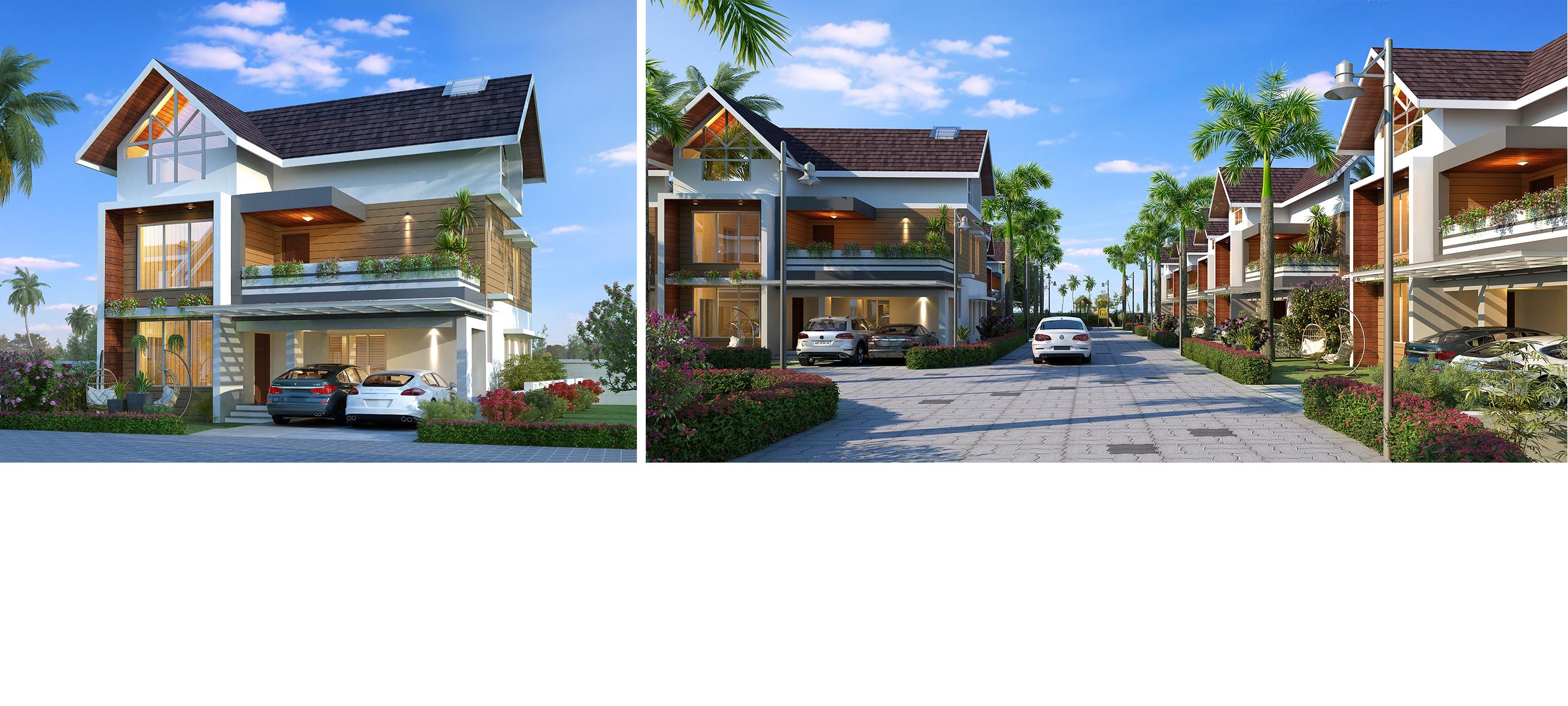 Villas in Kakkanad For Sale
